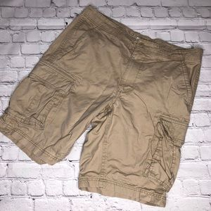 Sonoma khaki cargo shorts 36